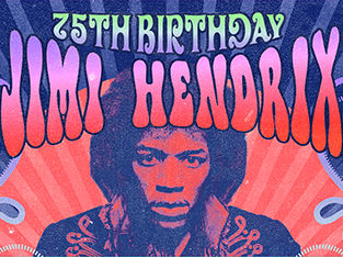 Jimi Hendrix 75th Birthday - 50 years Axis Bold As Love (tribute)