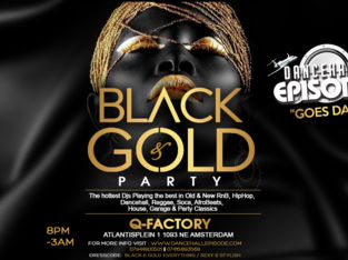 Dancehall Episode Goes Dam - Black & Gold Party (RnB, Hiphop, Dancehall)