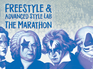 CvA live: Freestyle & Advanced Style Lab The Marathon (various genres)