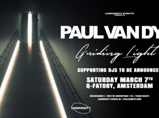 Paul van Dyk Guiding Light Tour (club)