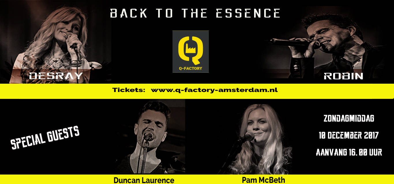 Back To The Essence december
